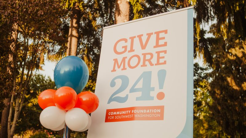 Give More 24! Thank you